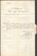 1848.09. Szabadságfarc. Buda, Hadügyminisztérium, Hivatalos Levél, Tartalommal Ungvárra Küldve  /  1848.09. Revolution B - Hungary