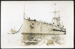 K.u.K. Haditengerészet, SMS Prinz Eugen Fotós Képeslap  /  KuK NAVY SMS Prinz Eugen Photo Pic. P.card - Austria