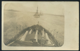K.u.K. Haditengerészet, SMS Prinz Eugen Fotós Képeslap  /  KuK NAVY SMS Prinz Eugen Photo Pic. P.card - Warships