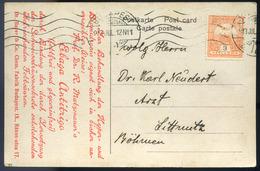 BUDAPEST 1913. Képeslap, Céglyukasztásos Bélyeggel   /  BUDAPEST 1913 Vintage Pic. P.card Corp. Punched Stamp - Used Stamps