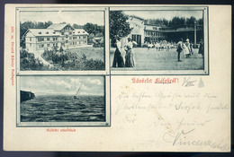 SIÓFOK. Régi Képeslap , Divald  /  SIÓFOK, Vintage Pic. P.card , Divald - Hungary