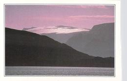 NORVEGE NORWAY Norge-KVAENANGEN Glaciers Scintillants De La Région De BODO Clarté Polaire Soleil Minuit Polar Daylight - Noorwegen