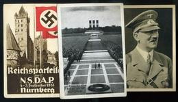 NÉMETORSZÁG Reich, 5db Klf. Képeslap  /  5 Painted Pic. P.cards From The Third Reich - Germany