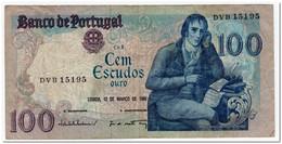 PORTUGAL,100 ESCUDOS,1985,P.178d,CIRCULATED - Portugal