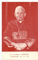 Devotie - Devotion - Image - Prentje - Cardinal Kardinaal Cardijn - Santini