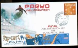 Australia 2005 Joel Parkinson, Surfing FDC Lot20888 - 2000-09 Elizabeth II