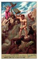 1299 Promethee - PROMETHEUS Griekse Mythologie - Mythologie Greque Greek - Gods - Goden - Liebig SERIE Complete 6 Cards - Liebig