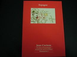 JEAN COCTEAU - Espagne - Lot De 18 Cartes Et Enveloppes - Cocteau