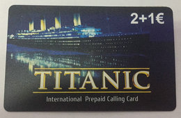 Telephone Card, Titanic - Sin Clasificación