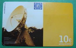 First Edition KFOR Kosovo German Army In Kosovo PREPAID Phonecard, 10 Euro. Operator KBIMPULS, *Satelite*, RARE - Kosovo