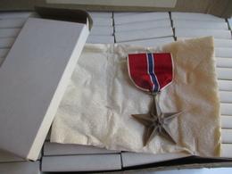 MEDAILLE BRONZE STAR US De 1944 En Boite - 1939-45