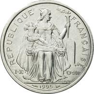 Monnaie, Nouvelle-Calédonie, 2 Francs, 1995, Paris, TTB, Aluminium, KM:14 - Nouvelle-Calédonie