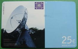 First Edition KFOR Kosovo German Army In Kosovo PREPAID Phonecard, 25 Euro. Operator KBIMPULS, *Satelite*, RARE - Kosovo