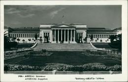 Postcard Athen Αθήνα Zappeion 1938 - Greece