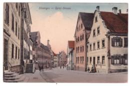 ELLWANGEN - Spital - Strasse (carte Animée) - Ellwangen