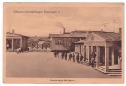 ELLWANGEN - Offiziers-Gefangenlager - Haupteingang Des Lagers   (carte Animée) - Ellwangen