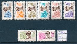 CONGO KINSHASA COB 617/24 MNH - République Démocratique Du Congo (1964-71)