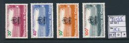 CONGO KINSHASA COB 625/28 MNH - Democratic Republic Of Congo (1964-71)