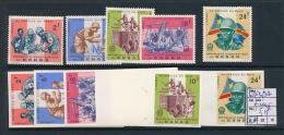 CONGO KINSHASA COB 633/37 + IMPERFORATED MNH - República Democrática Del Congo (1964-71)