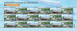 Indonesia 2018 - FS Trains / Railroads/ Locomotives - Indonesien