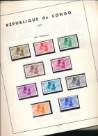 CONGO KINSHASA NICE SELECTION MNH KENNEDY SET LH - République Démocratique Du Congo (1964-71)