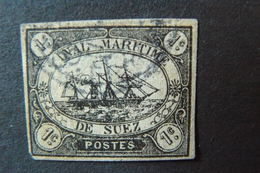 Egypte - Cie Du Canal De Suez - Yvert N° 1 Oblitéré - Egypt