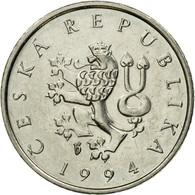 Monnaie, République Tchèque, Koruna, 1994, TTB, Nickel Plated Steel, KM:7 - Czech Republic
