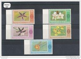 TRINITE ET TOBAGO 1978 - YT N° 372/376 NEUF SANS CHARNIERE ** (MNH) GOMME D'ORIGINE LUXE - Trinité & Tobago (1962-...)