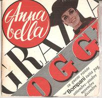 ANNA BELLA 45 GIRI GADGET PUBBLICITARIO LA GHIRLANDEINA CANTO POPOLARE MODENESE - Country & Folk