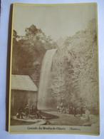 NANTUA (01) - Photographie De Cabinet - Cascade Du Moulin-de-Charix  -  Photo Mme Laloge, Nantua - RARE  TBE - Photographs