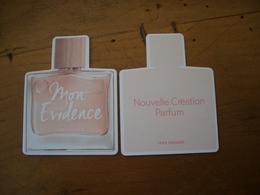 Carte Rocher Mon Evidence - Perfume Cards