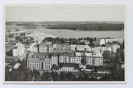 Näkymä Vesilinnan Tornista, Jyväskyla, Suomi Finland, RPPC Real Photo Postcard - Finland