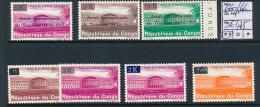 CONGO KINSHASA KENNEDY COB 660/66  MNH - Democratic Republic Of Congo (1964-71)