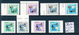 CONGO KINSHASA COB 773/76 + IMPERFORATED MNH - Repubblica Democratica Del Congo (1964-71)