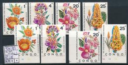 CONGO KINSHASA COB 778/781 + IMPERFORATED MNH - Neufs