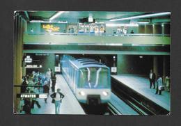 MONTRÉAL - QUÉBEC - MÉTRO DE MONTRÉAL CONSTRUIT EN 1967 - PAR ROBERT LAJOIE - Montreal