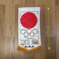 Flag (Pennant / Banderín) ZA000044 - Olympics Tokyo Japan 1964 - Apparel, Souvenirs & Other