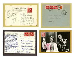 Quatre Documents Affranchis Par Roulette 1009A Marianne De Muller - Coil Stamps