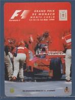 Autocollant F1 Grand Prix De Monaco, Monte Carlo, 13-14-15-16 Mai 1999, Neuf - Automobile - F1