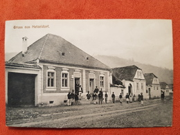 Cartolina GRUSS AUS HETZELDORF 1900 ROMANIA - Romania