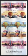 Australia 2008 Up Up & Away, Balloons P&S Booklet FU - Mint Stamps