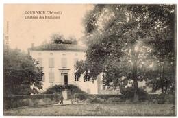 """"""" COURNIOU - Chateau Des ENCLAUSES """" TRES RARE ! Ed. Cauquil - Saint-Pons-de-Thomières"""