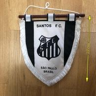 Flag (Pennant / Banderín) ZA000052 - Football (Soccer / Calcio) Brazil Santos - Habillement, Souvenirs & Autres