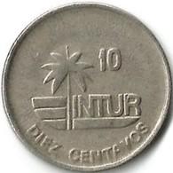 Lot 1 Pièce De Monnaie   10 Centavos 1989 - Cuba