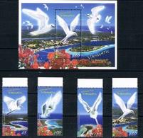 Bloc Sheet Oiseaux  Birds Neuf  MNH **  Vanuatu 2008 - Vanuatu (1980-...)