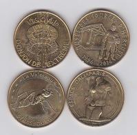 4 Médailles 2016 -dali - Le Vaisseau- Nigoland - Hercule - 2016
