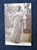 MADAGASCAR - DIEGO SUAREZ - Femme Makoa - Gros Plan - Voyagé En 1912 - Madagaskar