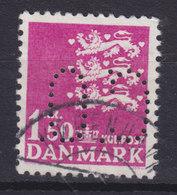 Denmark Perfin Perforé Lochung (C51) 'C.O.' A/S C. Olesen, København (Manufaktur) (2 Scans) - Abarten Und Kuriositäten