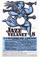 PERTUZE  - Jazz à Lavelanet  - CPM 10,5x15 TBE 1997 Dos Non Cp - Künstlerkarten