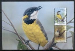Australia 2009 Songbirds, Noisy Scrub-bird & Mangrove Golden Whistler Prestige Booklet Pane MUH - Nuovi